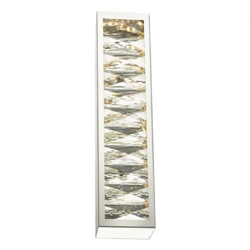Landon Wall Light Polished Chrome & Crystal LED (double insulated) BXLAN3050-17